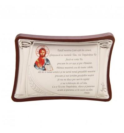 Iconita cu rugaciune - Tatal nostru