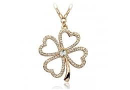 Lucky Spring - colier placat cu aur