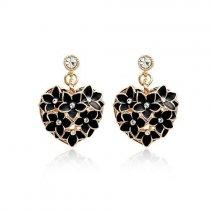 Heart of Spring - cercei cu cristale austriece