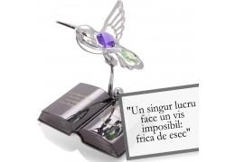 """Paulo Coelho - optimismul - Colectia """"Citate motivationale cu cristale Swarovski"""""""