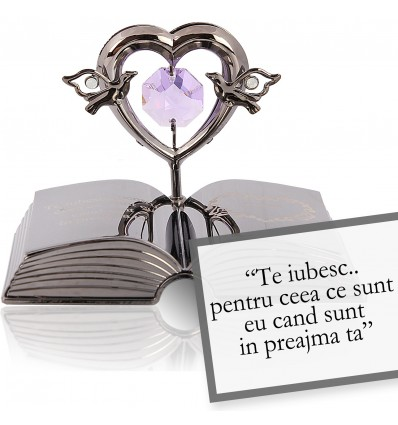 Roy Croft - despre iubire - Colectia citate motivationale cu cristale Swarovski
