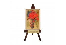 "Sevalet ""Vaza cu margarete"" Van Gogh - foita de aur 23kt"