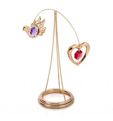Freedom and Love - figurina cu cristale Swarovski