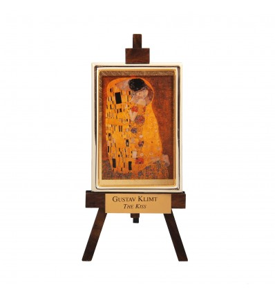 "Sevalet ""Sarutul"" Klimt - foita de aur 23kt"