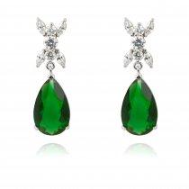 Green Drops - Cercei cu cristale Swarovski