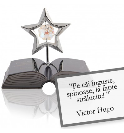 Victor Hugo despre curaj-Citat motivational Swarovski