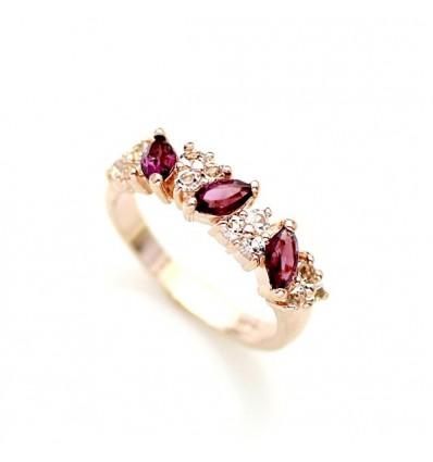 Promise - inel placat cu aur