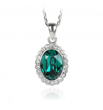 Green Passion - colier cu cristale Swarovski