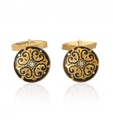 Butoni incrustati cu aur - Toledo