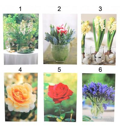 Felicitare flori