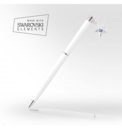 Pix cu cristale Swarovski - Blue