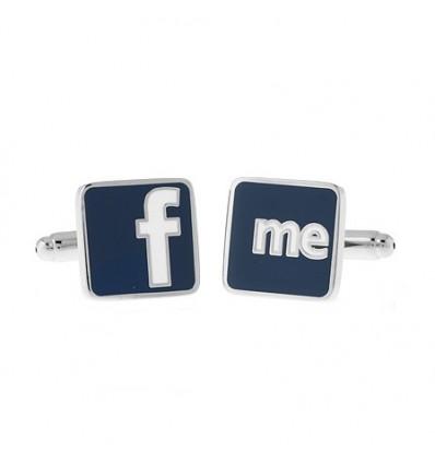 Butoni Facebook Friends din otel inoxidabil