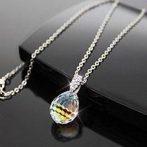 """Colier cu cristal Swarovski Elements """"Pure Aqua"""""""