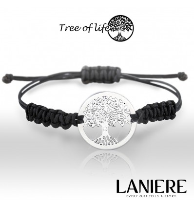 Bratara din aur cu diamant - Tree of Life - lucky charm