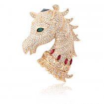 "Brosa cu cristale Swarovski  - ""Year of The Horse"""