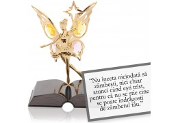 Garcia Marquez-despre zambet-Citat motivational Swarovski