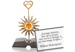 "William Shakespeare - ""Despre optimism"" - Colectia citate motivationale cu cristale Swarovski"
