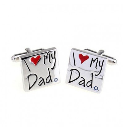 "Butoni pentru camasa - ""I love My Dad"""