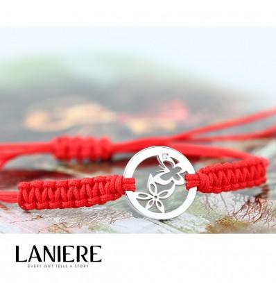Bratara din aur cu diamant - Spring Love - lucky charm