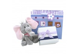 Little Friends - Dumbo elefantel de plus si ambalaj de lux pentru cadoul tau
