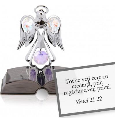 Ingeras cu cristale Swarovski - Povestea Bibliei