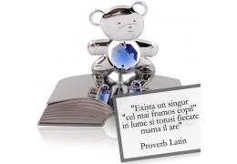 Proverb latin despre copii - Colectia citate motivationale cu cristale Swarovski