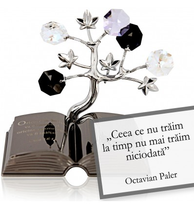 """Octavian Paler - Despre viata - Colectia """"Citate motivationale cu cristale Swarovski"""""""