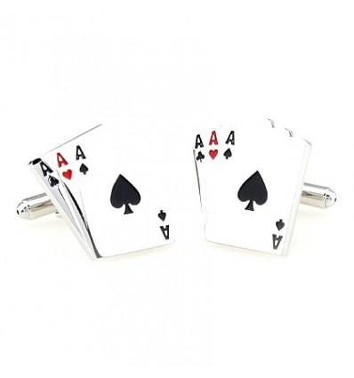 "Butoni de camasa ""Poker"""