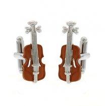 "Butoni de camasa ""Violin"""
