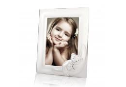 Rama foto argintata cu ursulet - colectia Twinkle