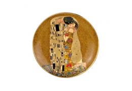 """Platou din portelan """"Sarutul""""  Klimt - Goebel"""