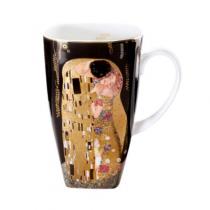 """Cana de cafea """"Sarutul"""" Klimt - Goebel"""