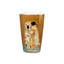 "Vaza din portelan ""Sarutul"" Klimt - Goebel"