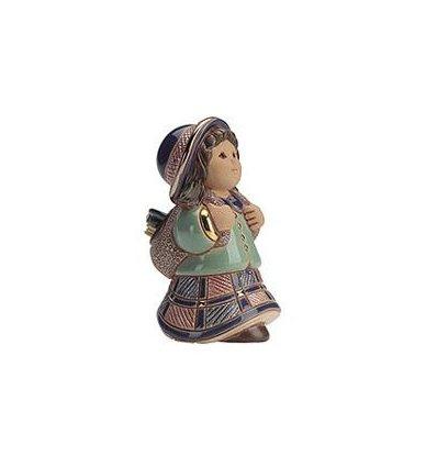 Zile de scoala - figurina din ceramica