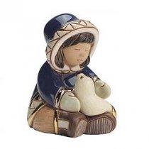 Prieten de la Polul Nord - figurina din ceramica