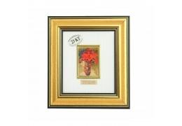 "Tablou ""Vaza cu margarete""  Van Gogh - pe foita de aur de 23 Kt."