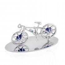 Bicicleta cu cristale Swarovski