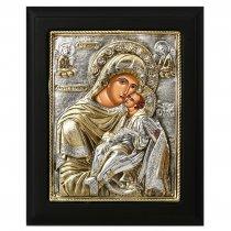 Icoana bizantina cu Maica Domnului si Pruncul