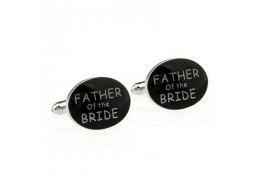 "Butoni de camasa "" Father of the bride"""