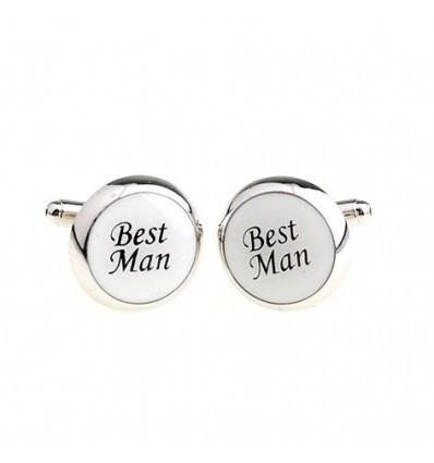 """Butoni rotunzi de camasa """"Best Man"""""""