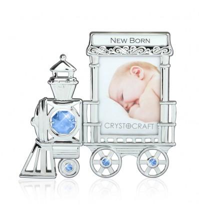 Rama foto locomotiva cu cristale Swarovski