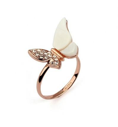 Delicate - inel placat cu aur