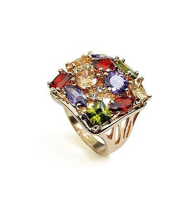 "Inel cu cristale Swarovski Elements ""Flowers Garden"""