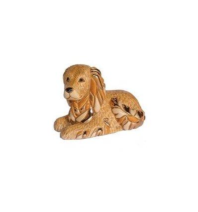 Caine Golden Retreiver din ceramica portelanata