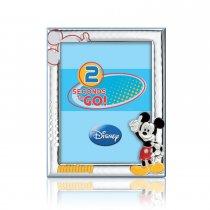 """Rama foto pe foita de argint - model Disney """"Mickey"""""""