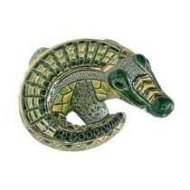 Crocodil din ceramica portelanata