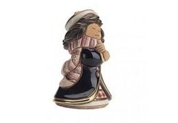 """Briza iernii"" - figurina din ceramica"