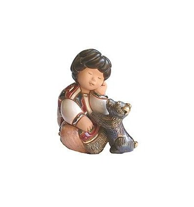 Prieteni - figurina din ceramica