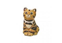 Pisicuta tigrata din ceramica portelanata