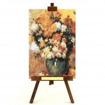 """Tablou pe sevalet """"Crizanteme"""" Renoir"""